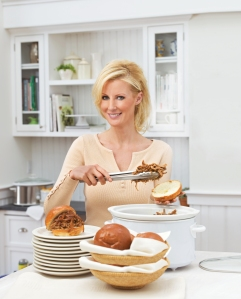 Sandra Lee and her meat.